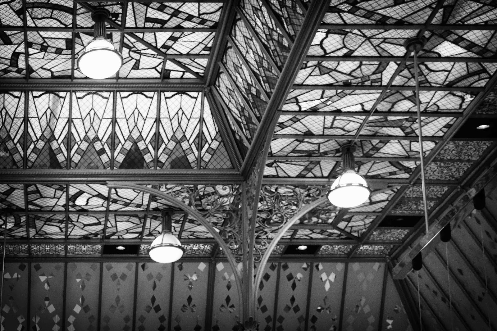 Paris fvdv: de glazen koepels van het nouveau paris