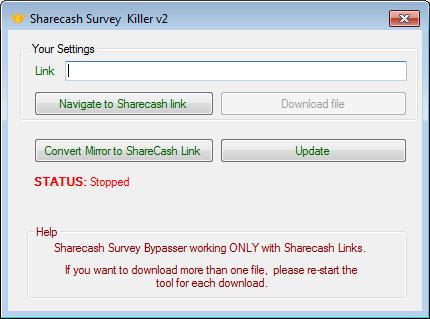 Sharecash.org, Fileme.us, Filesja.com Survey Bypasser (100% Working)