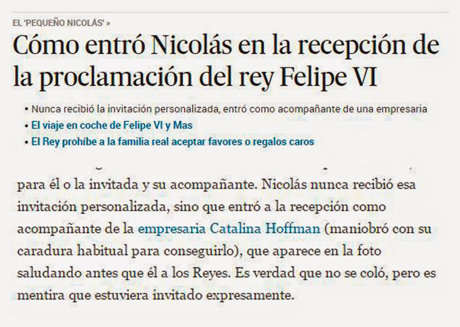Noticias falsas 2014 - El País