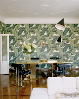 Banana Leaf Print Wall Decor
