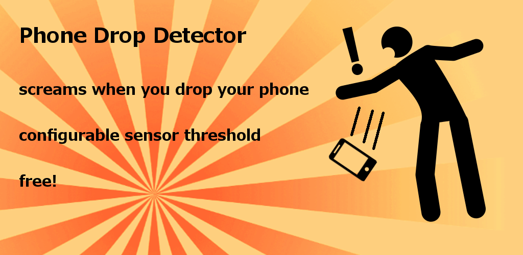 app that makes phone scream when falling