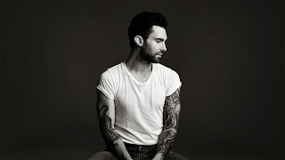 Adam Levine wallpaper black and white