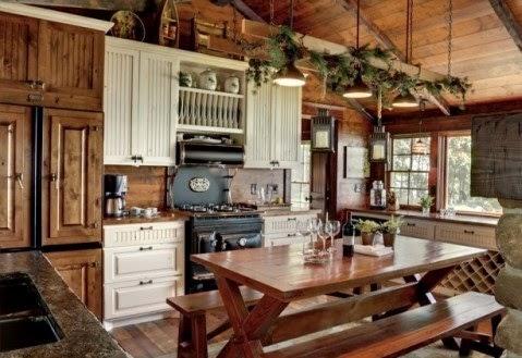 Cocinas decoracion y dise o de cocinas decoracion cocinas rusticas - Disenos de cocinas rusticas ...