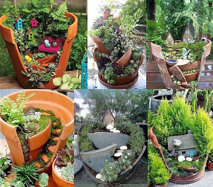 Con encanto peque os jardines - Pequenos jardines con encanto ...