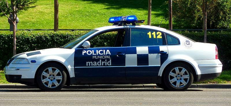 VW Passat V6 4Emotion de la Policia Municipal de Madrid