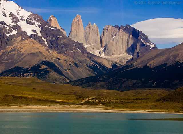 Cordillera del Paine na Patagônia Chilena
