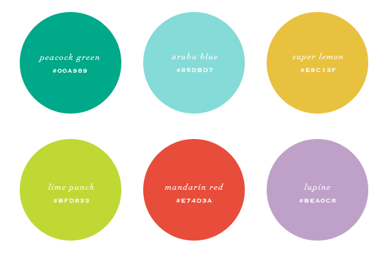 Summer 2013 Color Palette Pantone Fashion + Home Color Guide