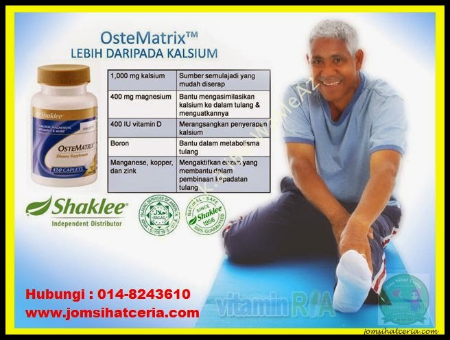 Ostematrix, Pengedar Shaklee Kuantan, Produk SHAKLEE,