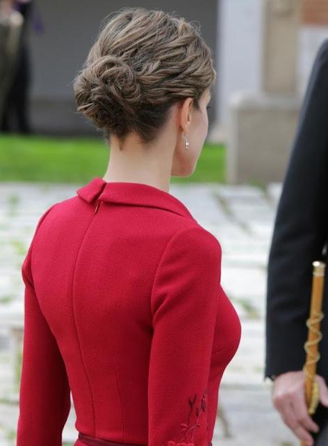 Queen Letizia Style Dress Felipa Varela