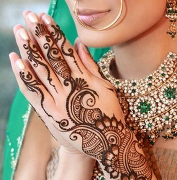 Mehndi Designs Karachi : Bridal mehndi desings latest pakistani