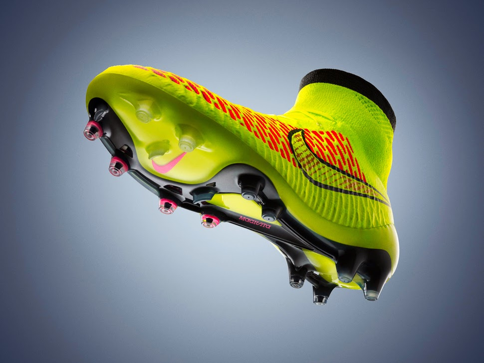 """The midfielder revealed the secrets of the new football boots, which he  says are """"very innovative and totally fit around the foot"""" thanks to a  technology ..."""