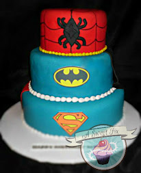 Alex's Super Hero Cake