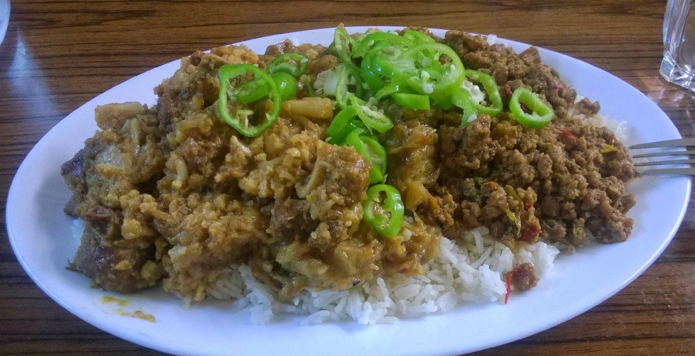 Mmmm Rice and Three!!!!!