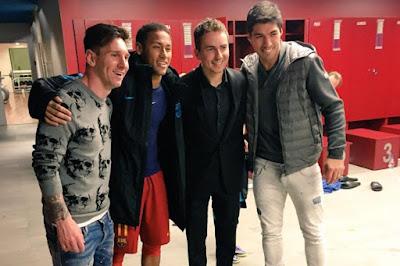 Girangnya Lorenzo Ketika Barcelona Bantai AS Roma 6:1