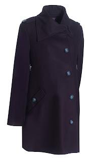 clark and gray maternity coat