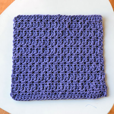 Crochet in Color: Dishcloth Pattern