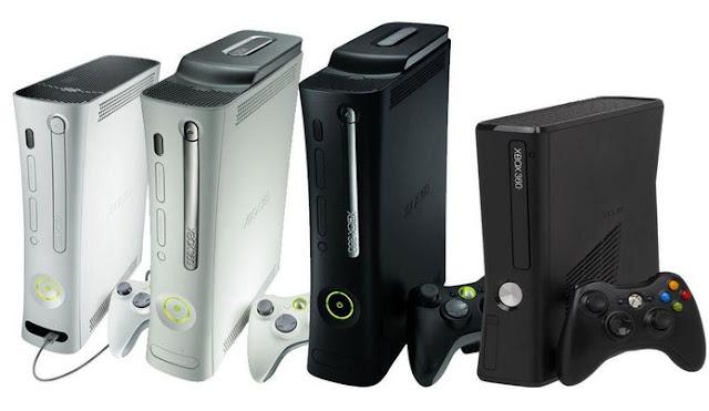 Versões do Xbox 360