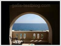 Ausblick Balkon - Ägypten