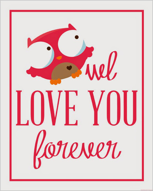My Owl Barn 10 Awesome Valentines Day Owl Printables – Owl Valentines Day Cards