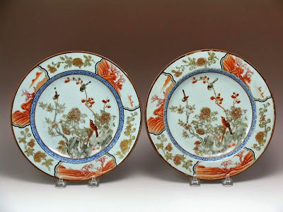 Rouge de fer Chinese export porcelain
