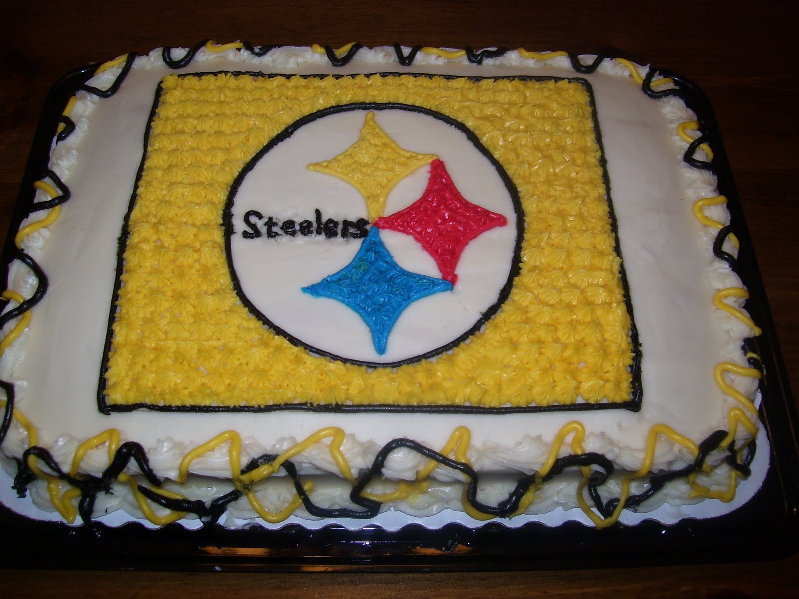 Big Ds Cakes Steelers Cake