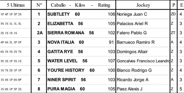 Carreras Caballos Palermo Clásico Propietarios