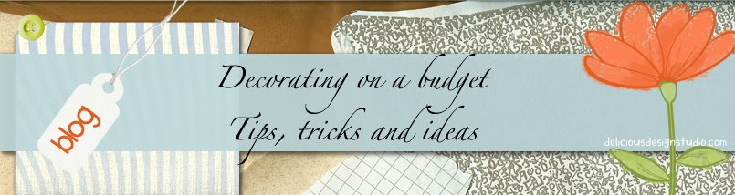 Decorating on a budget tips and thoughts