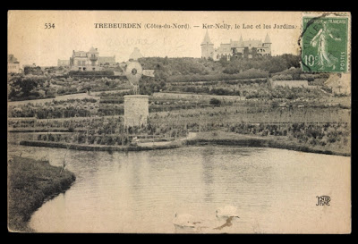 1922 postcard via http://www.akpool.co.uk/categories/4576-postcards?page=3 - as seen on linenandlavender.net - http://www.linenandlavender.net/2011/10/travel-chateau-de-ker-nelly.html