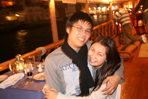A Memorable Blooper in Dubai Dhow Cruise One Valentines Day