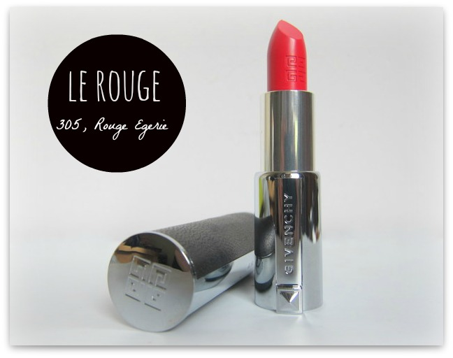 Givenchy Le Rouge Lipstick Rouge Egerie 305