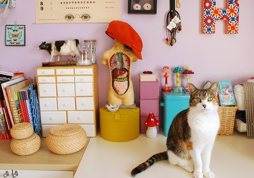 Inspiring Tiny Workspaces by Hine Mizushima