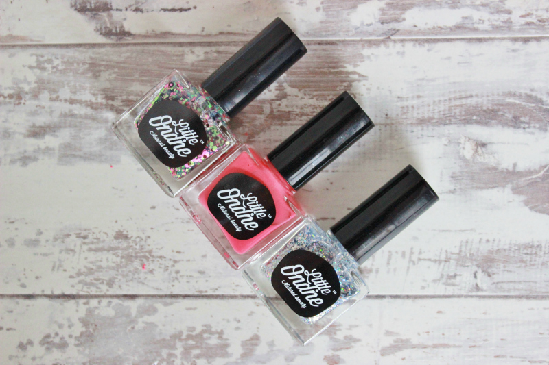 Little Ondine Peel-off nail polish review