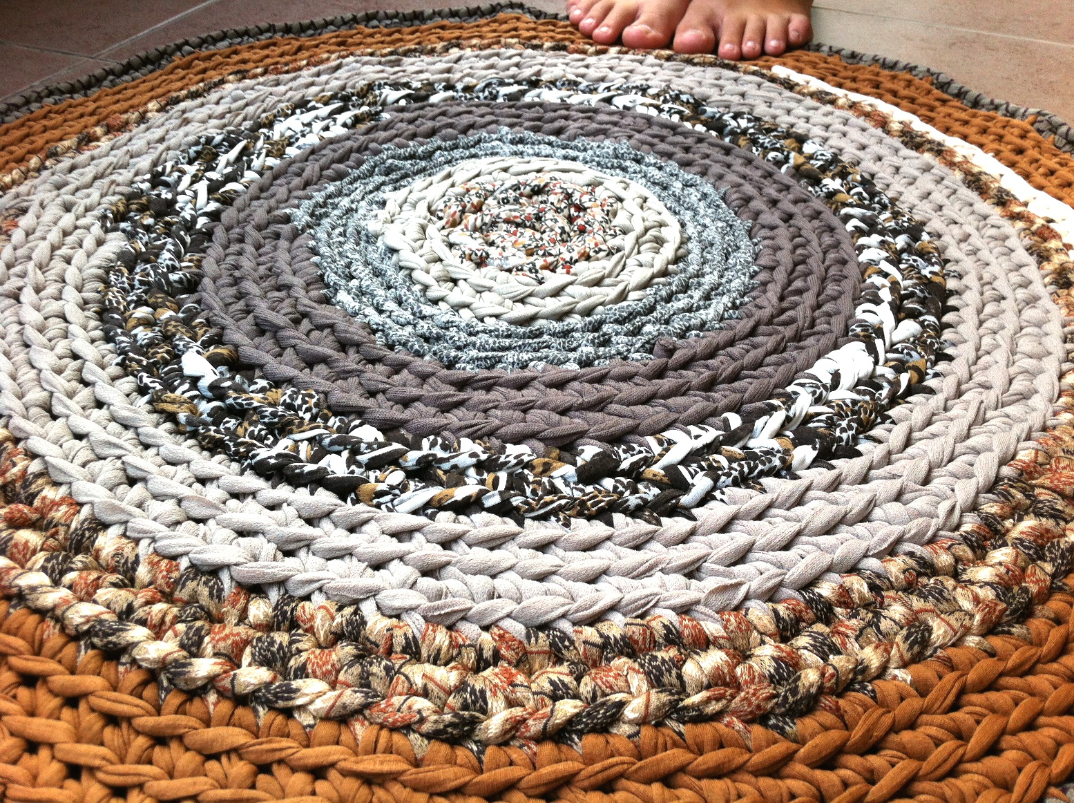 Lady crochet sobre el trapillo - Tejer con trapillo ...