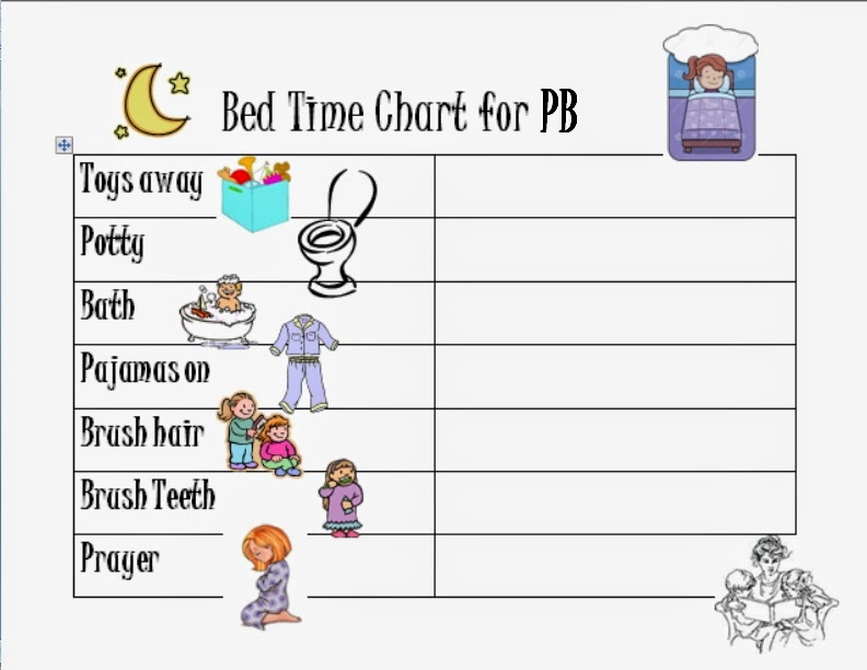 For the bed time chart I bought these dry erase crayons and they have ...