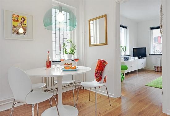 decoracao alternativa apartamentos pequenos:Small Apartment Dining Room Ideas