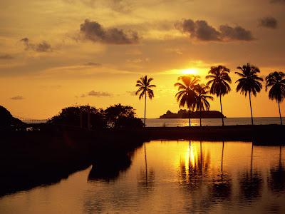 Best Sunset In Ixtapa Guerrero, Mexico Wallpaper