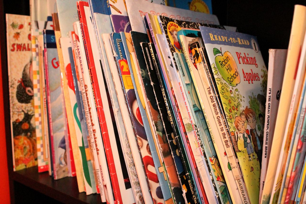 We also received several more baby/toddler board books at each baby ...