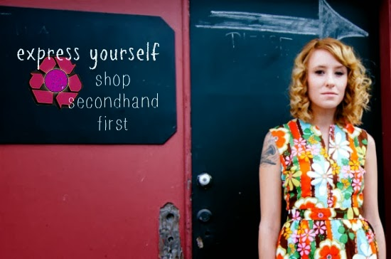 SECONDHAND FIRST: Link-up + Express Yourself