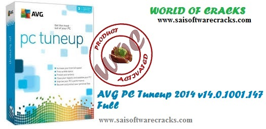 AVG PC Tuneup 2014 14.0.1001.147 Full Version With Crack | 77.9 MB