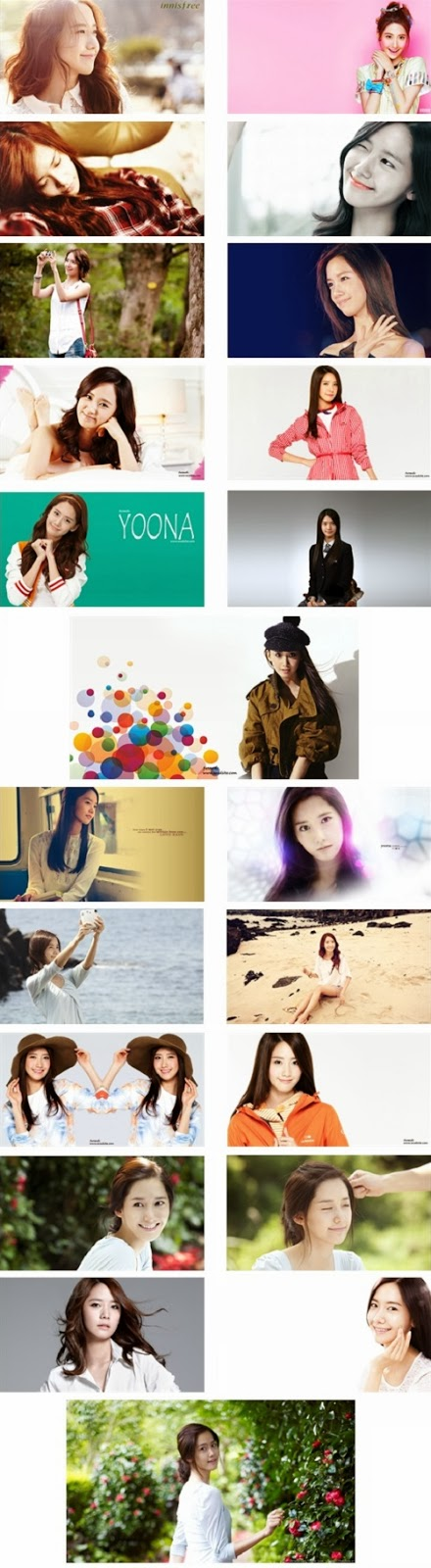 Yoona SNSD Theme For Windows 7 And 8 8.1