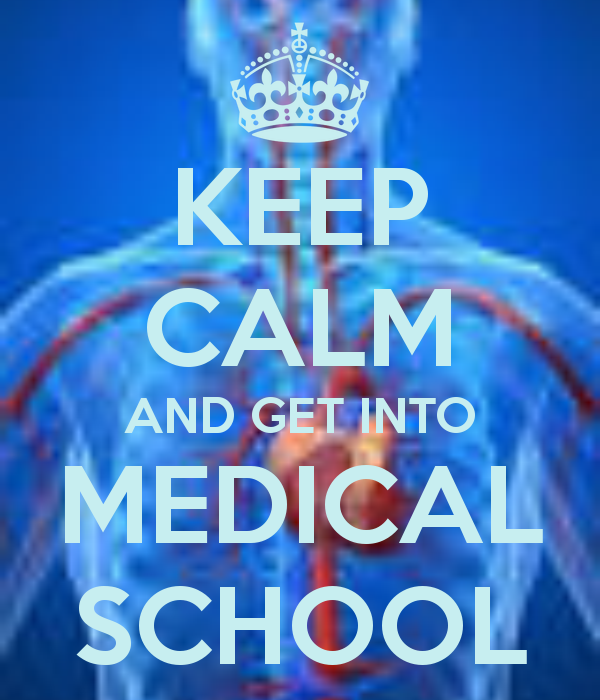 How to get into medical school?
