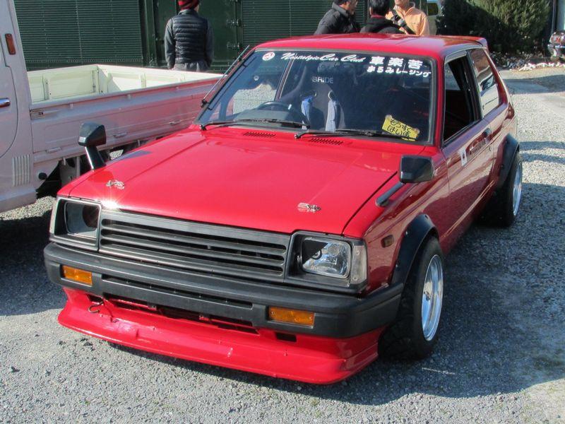 Toyota Starlet P6, badass car, RWD, napęd na tył, mały samochód, sportowy, klasyk, stary