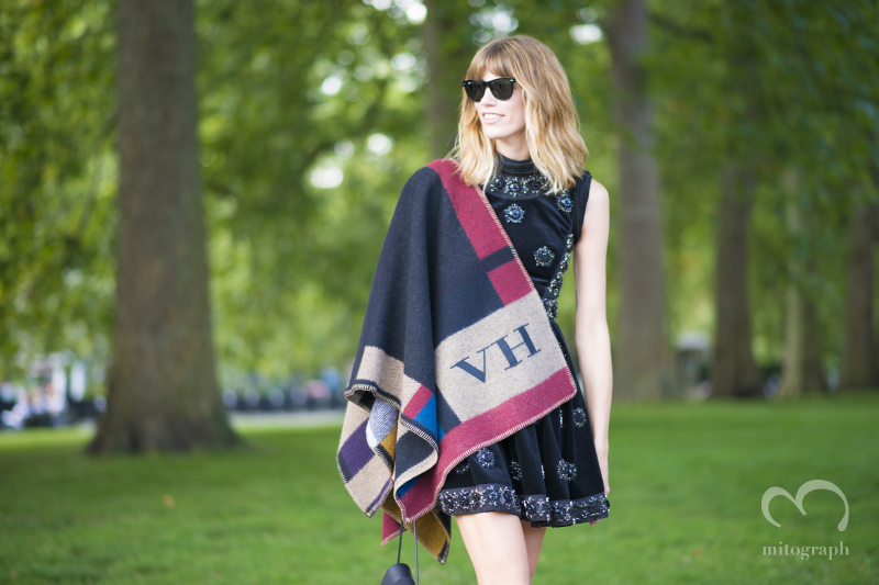 Veronika Heilbrunner at Burberry Prorsum 2015 Spring Summer show during London Fashion Week LFW