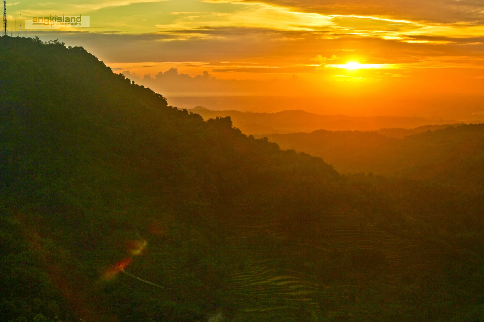 sunset Jogja