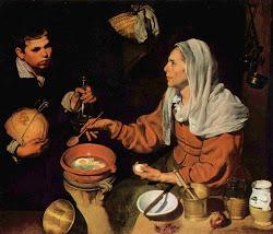 Vieja friendo huevos - Velázquez
