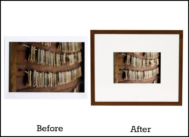 Picture Framing Blog - A Good Frame of Mind: Before and After: The ...
