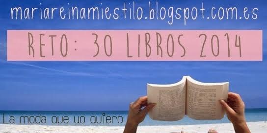 Reto 30 libros 2014