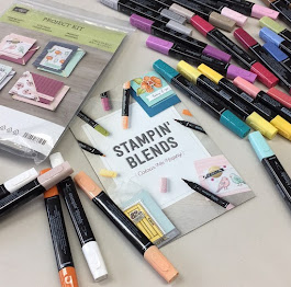 STAMPIN' BLENDS -- FREE CLASS / COMING SOON!