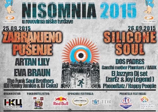 14. Nisomnia festival u Nišu