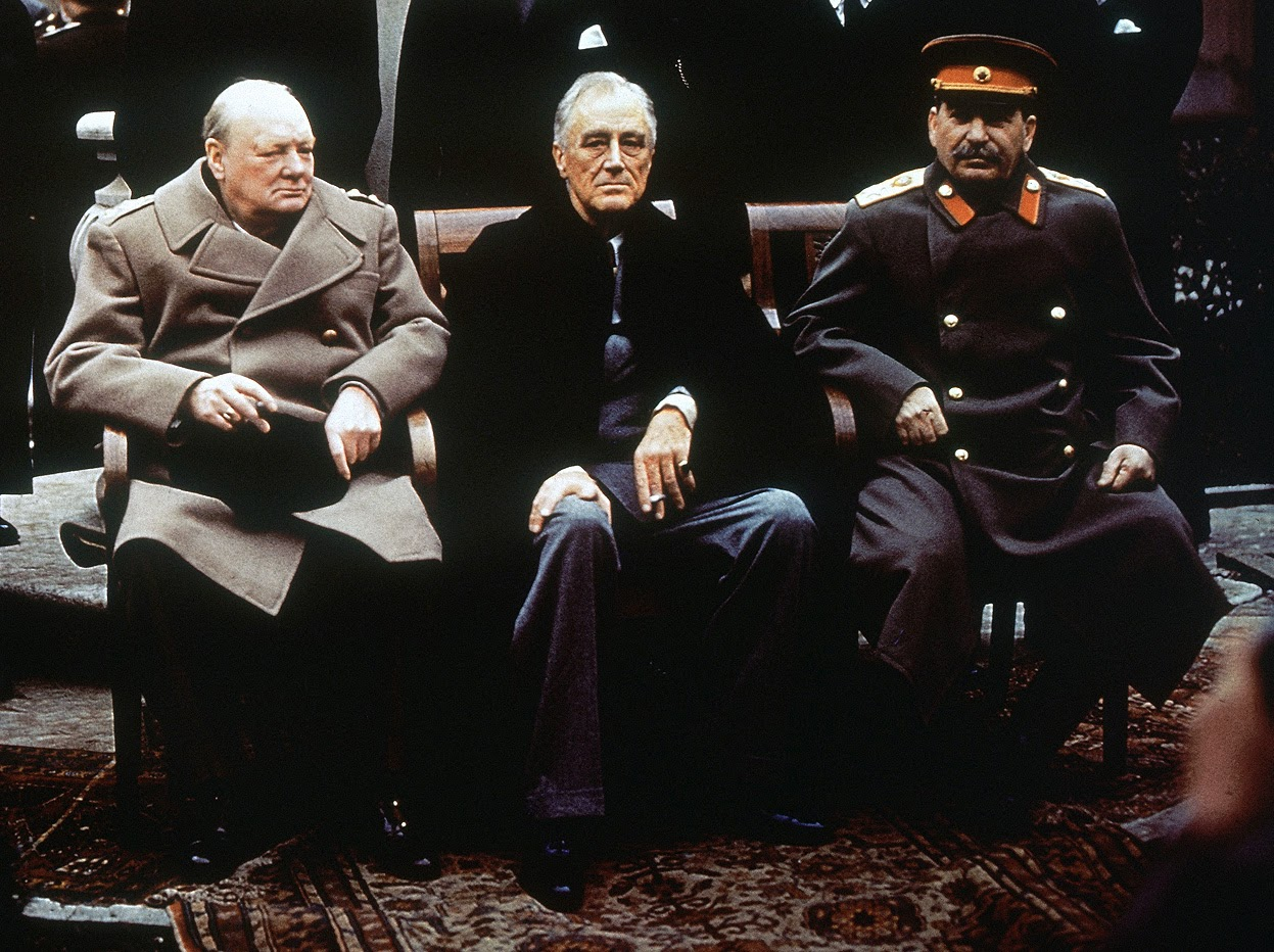 The Yalta Conference World History In Photo